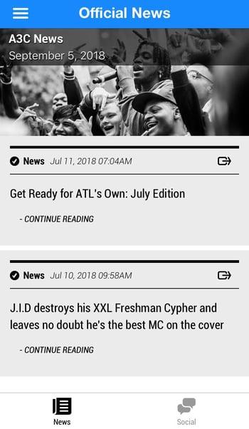 App News - 2018