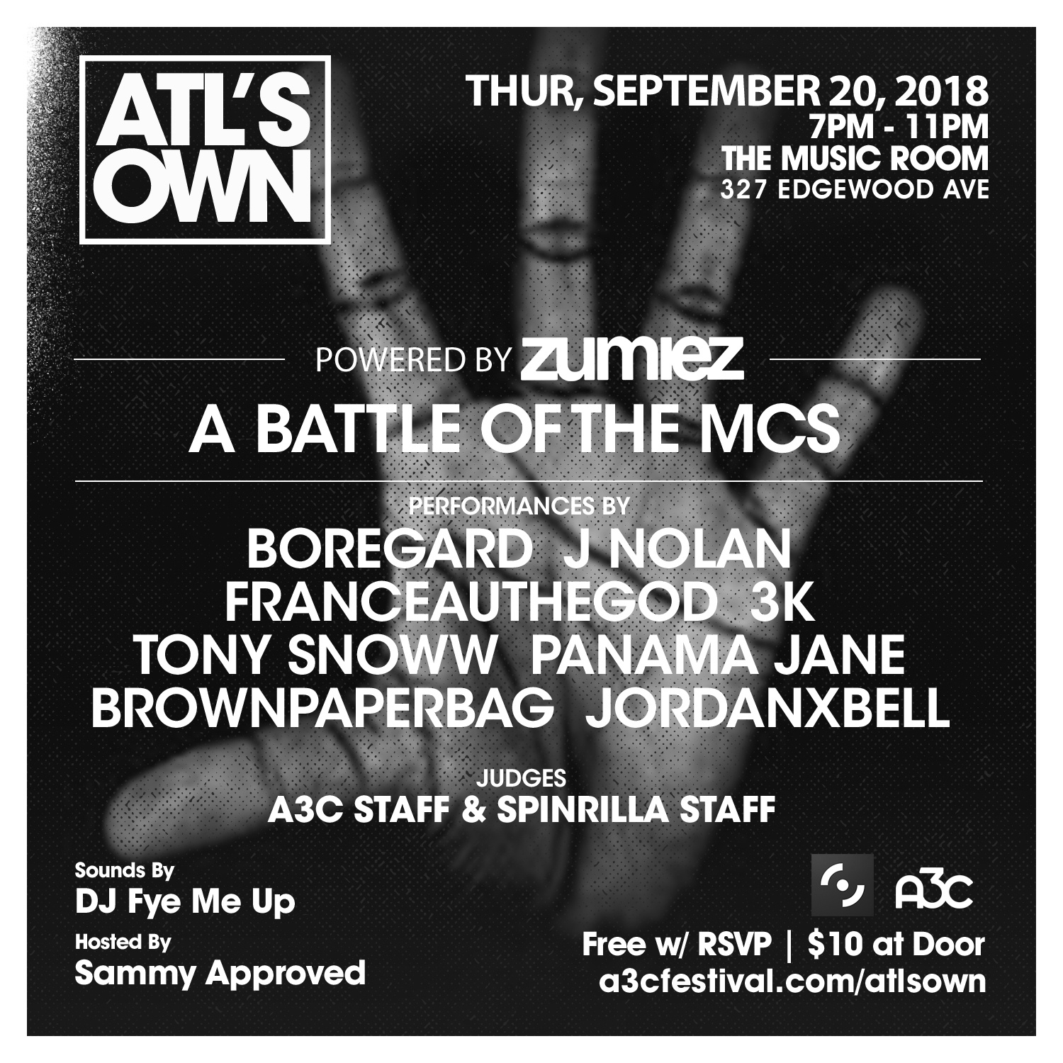 Battle of the MCs - ATLs Own-Recovered