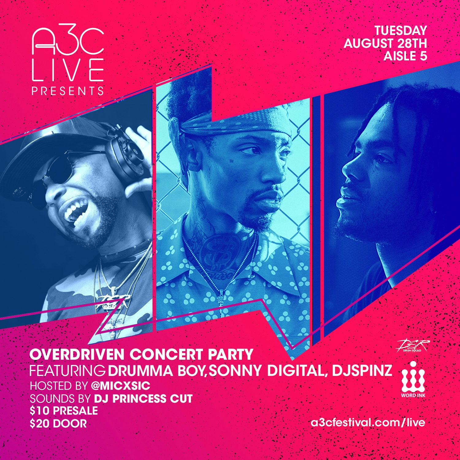 A3C LIVE AUG - NEW
