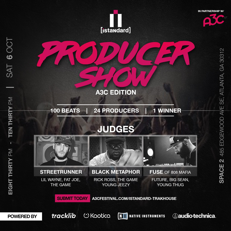 iStandard Producer Showcase A3C Edition