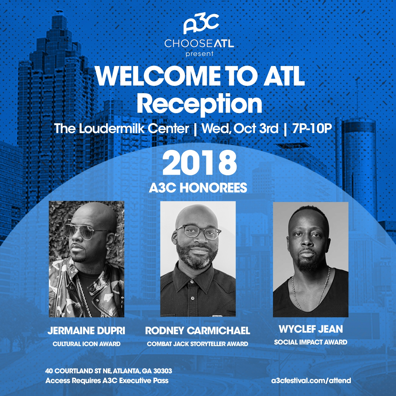 Welcome Reception ATL - A3C 2018